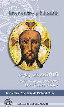 Cartel Encuentro Diocesano Pastoral 2015