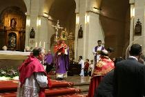 Visita de la Santa Faz a la Concatedral