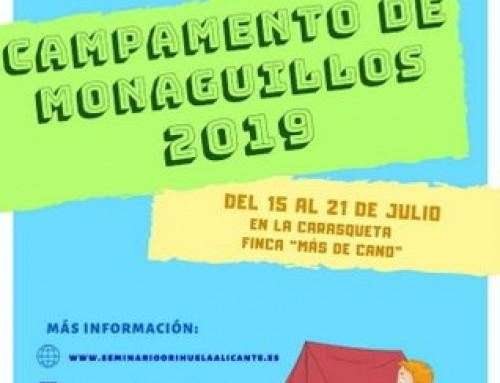 CAMPAMENTO DE MONAGUILLOS