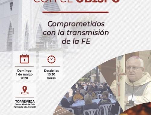 ENCUENTRO DE CATEQUISTAS CON EL OBISPO EN TORREVIEJA