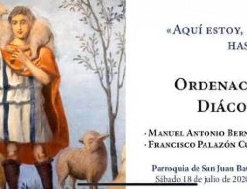 ORDENACIÓN DE DIÁCONOS