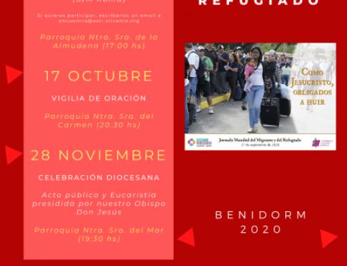 BENIDORM CENTRA LOS ACTOS EN LA DIÓCESIS POR LA JORNADA MUNDIAL DEL MIGRANTE Y EL REFUGIADO