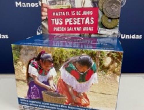 PESETAS SOLIDARIAS CON MANOS UNIDAS